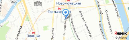 Дайкон на карте Москвы