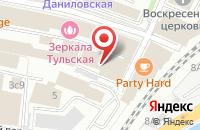 Схема проезда до компании Нпц Технопласт в Москве