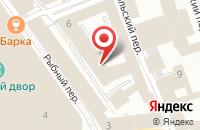 Схема проезда до компании Фарест в Москве