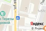 Схема проезда до компании Спасские ворота-М в Москве