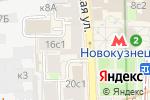 Схема проезда до компании Марсс в Москве