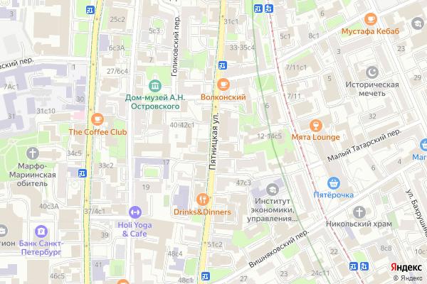 Ремонт телевизоров Улица Пятницкая на яндекс карте