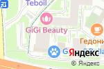 Схема проезда до компании Мото Планета в Москве