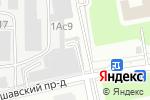 Схема проезда до компании ПЭЙЦЕНТР в Москве