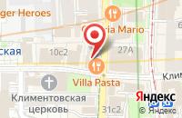 Схема проезда до компании Страховая Компания Меркурий в Москве