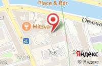 Схема проезда до компании Гонка Идей в Москве