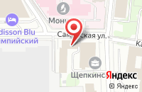 Схема проезда до компании Стрим - Каналы 16 в Москве