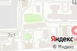 Схема проезда до компании Регламент в Москве