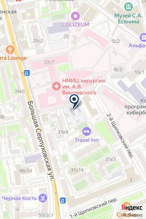 ДЕТСКИЙ САД № 735 на карте Серпухова