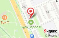 Схема проезда до компании Почта Банк в Прямицыно
