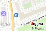 Схема проезда до компании Инвест проект в Москве