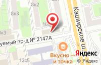 Схема проезда до компании Профразвитие в Москве
