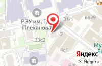Схема проезда до компании Интерпартнер в Москве