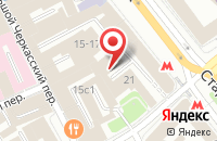 Схема проезда до компании Миракс в Москве