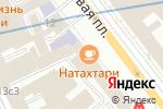 Схема проезда до компании Всероссийское общество слепых в Москве