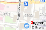 Схема проезда до компании Хинкальная на Щепкина в Москве