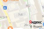 Схема проезда до компании Промсвязьмонтаж в Москве