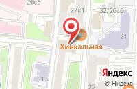 Схема проезда до компании Стольник в Москве