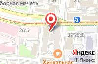 Схема проезда до компании МСМ-5 Девелопмент в Москве