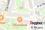 Схема проезда до компании Corzetti в Москве