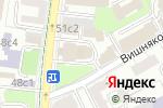 Схема проезда до компании Храм Троицы Живоначальной в Вишняках в Москве