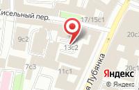 Схема проезда до компании Стройконтиненталь в Москве
