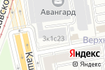 Схема проезда до компании VVTSERVIS в Москве