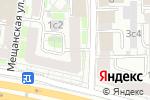 Схема проезда до компании Mac4all в Москве
