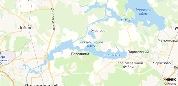 Осташково на карте