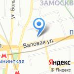 Winston & Strawn на карте Москвы