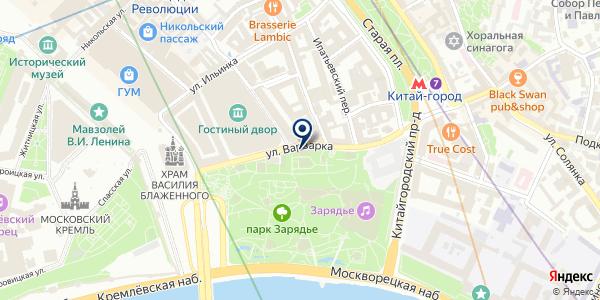 Кафе на карте Москве