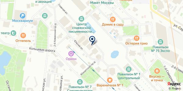 Глобалтех на карте Москве