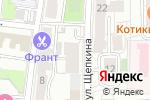 Схема проезда до компании Центр клинической стоматологии ЮКО в Москве