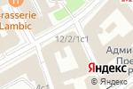 Схема проезда до компании РГАНИ в Москве