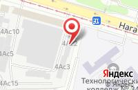 Схема проезда до компании Ирита Сервис в Москве