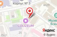 Схема проезда до компании Фоссло Фастенинг Системз Рус в Москве