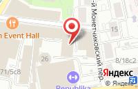 Схема проезда до компании Филикс в Москве