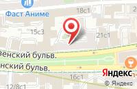 Схема проезда до компании Интернова в Москве