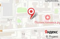 Схема проезда до компании Ремстройтехника в Москве