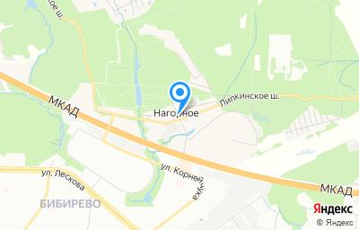 Местоположение на карте пункта техосмотра по адресу Московская обл, г Мытищи, п Нагорное, ул Центральная, влд 2 стр 1