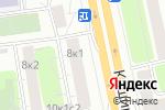Схема проезда до компании Паркет-Клуб в Москве