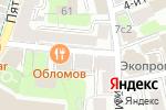 Схема проезда до компании ЮСТ.АС в Москве