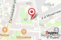 Схема проезда до компании Кортес в Москве