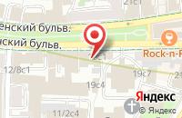 Схема проезда до компании Руссинвестхолдинг в Москве