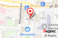 Схема проезда до компании Изотэкс в Москве