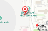 Схема проезда до компании Юсти-Класс в Москве