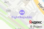 Схема проезда до компании Кафе на Нагатинской Набережной в Москве