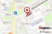 Схема проезда до компании Мир в Москве