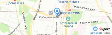 Чайхана на карте Москвы