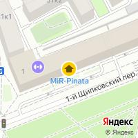 Световой день по адресу Россия, Московская область, Москва, 1 Щипковский переулок, 1